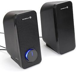 GOgroove Computer Speakers - SonaVERSE UB2 Multimedia USB Po