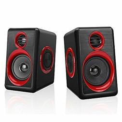 Computer Speakers with Heavy Bass,Subwoofer, Volume Control,