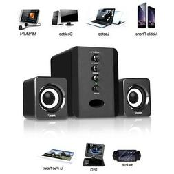 Multimedia Stereo Computer Speakers System USB Powered Porta