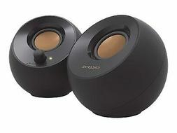 Creative Pebble - Speakers - for PC - 4.4 Watt  - black