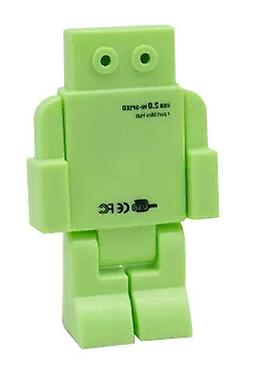 Creative Robot USB HUB 4-Port Computer USB Hubs 1 Pcs