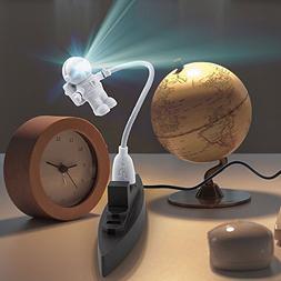 Winsun Creative Spaceman Astronaut LED Flexible USB Light fo