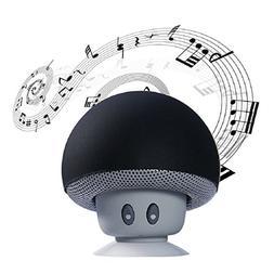 Egmy Newest Cute Mushroom Head Mini Bluetooth Speaker Sucker