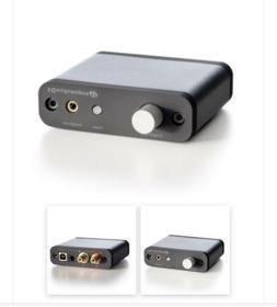 Audioengine D1 Premium 24-Bit DAC With Headphone Amp  Free S