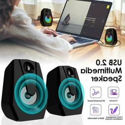 Desktop Computer Speakers Multimedia System PC Laptop Desk S