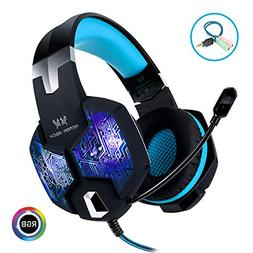 Stereo Gaming Headset with Mic for PC PS4 Xbox One Nintendo