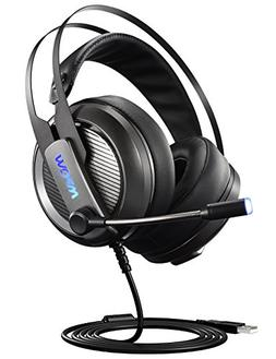 Mpow EG4 Gaming Headset , 7.1 Surround Sound Gaming Headphon