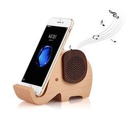Artinova Wooden Portable Wireless Bluetooth Speaker With Cel
