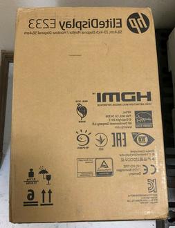 HP ELITE DISPLAY E233 LED MONITOR 23 INCH BRAND NEW IN BOX U