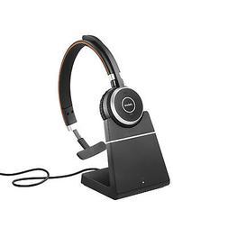 Jabra Evolve 65 Mono MS, Charging Stand & Link 370 - Profess
