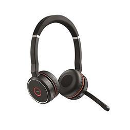 Jabra Evolve 75 UC Stereo Wireless Bluetooth Headset / Music