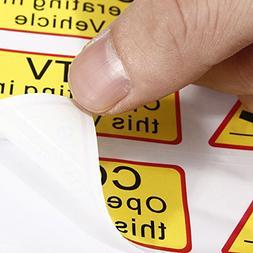 Exterior Accessories - 6pcs Car Taxi Sticker Signs Decal Cct
