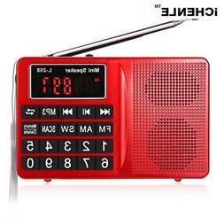 FM/AM/<font><b>SW</b></font> Radio Stereo <font><b>Speaker</