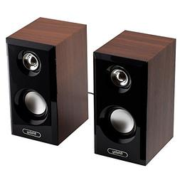 Frisby FS-2125U USB Powered Wooden Vinyl Design 2.0 CH 3.5mm