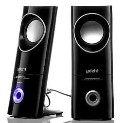 Frisby FS-50NU 2.0 Computer PC Laptop Desktop Speakers w/ He