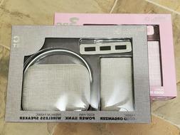 Gabba Goods G 3pc Gift Set 4000mAh Power Bank, Wireless Spea
