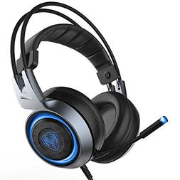 Somic G951 Silver Stereo Sound Gaming Headset for PC, Compat