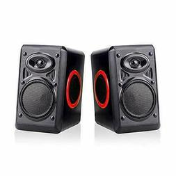 Gaming Speakers 6x9 PC Surround Sound System Loud Deep Bass