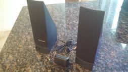 Genuine IBM Lenovo Computer Speakers FRU 41A5331, Set of 2 P