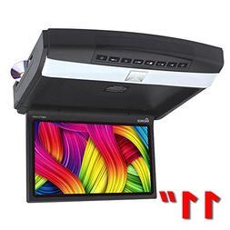 "Genius GMPT11-07DV 11"" Car HD LED Flipdown Monitor with DVD"