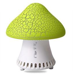 Fashion green mushroom shaped subwoofer stereo sound USB min