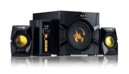 Genius GX-Gaming SW-G2.1 3000 with Two Input Jacks for Game