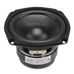 "DROK 4.5"" 8 Ohm Hifi Subwoofer Speakers Stereo Audio Loudspe"