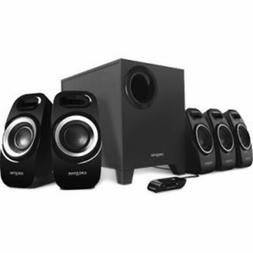 Creative Inspire T6300 5.1 Speaker System 50W RMS 51MF4115AA