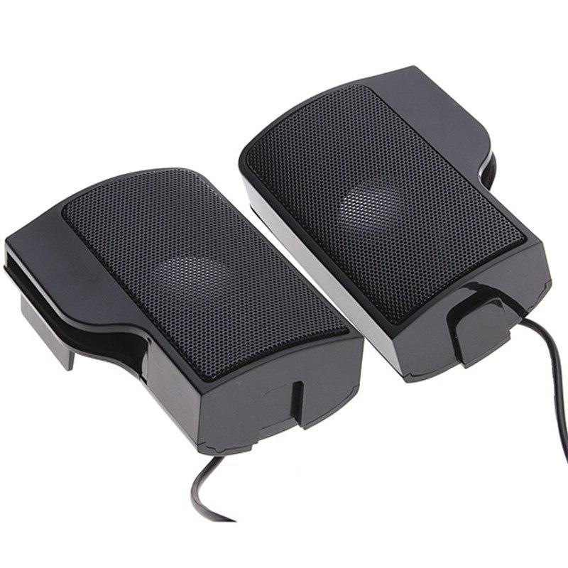 PLEXTONE 1 Portable <font><b>Speakers</b></font> Controller for Mp3 Music PC with Clip