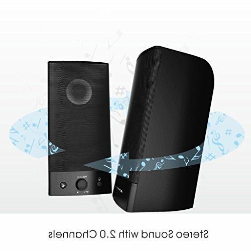 Avantree Computer Speakers, & Wired Superb Audio, AC Powered / Speakers TV SP750