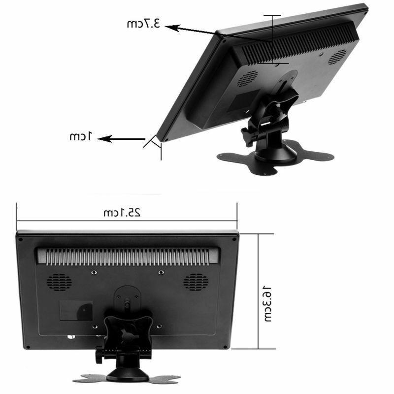 "10.1"" HD CCTV LCD Monitor Screen Video"