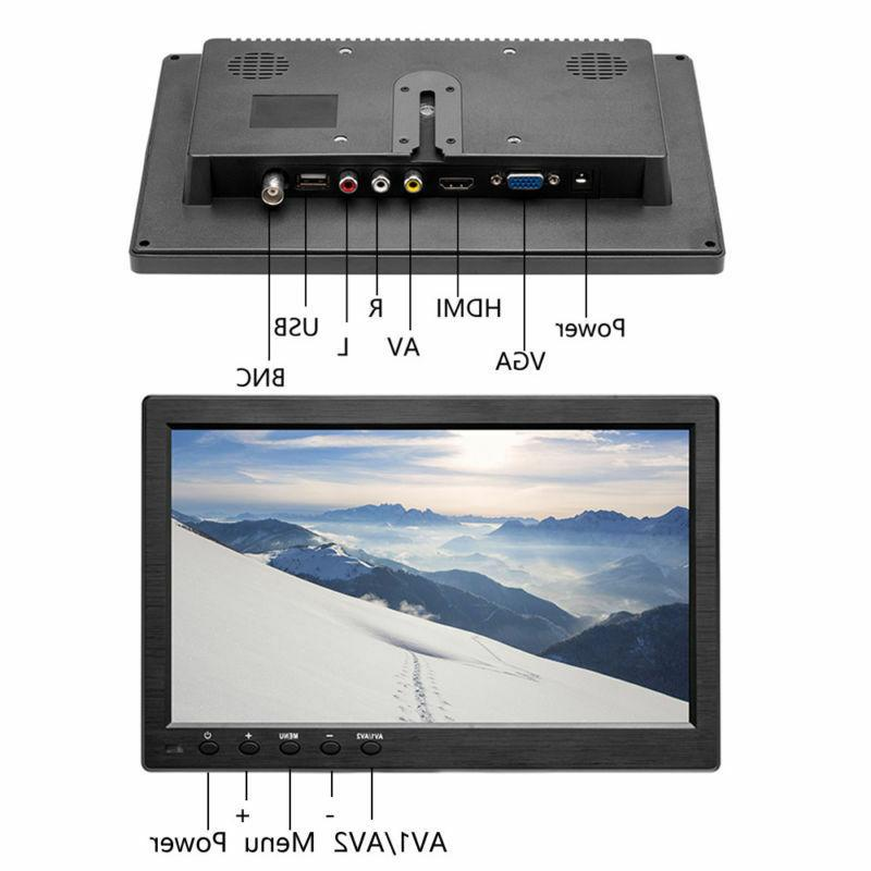 "10.1"" HD CCTV Monitor Video w/"