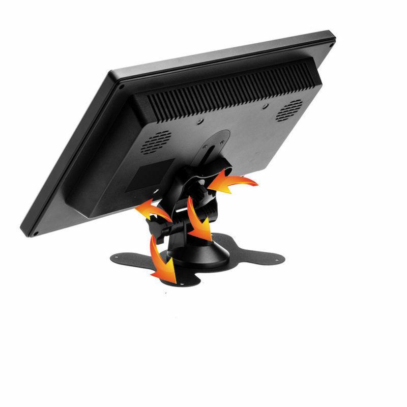 "10.1"" HD CCTV LCD Monitor Screen AV/RCA/VGA/HDMI/BNC Video w/"