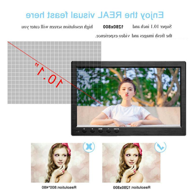 "10.1"" Monitor Screen Video w/"