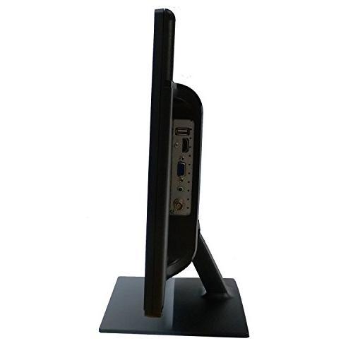101AV 18.5 HD LCD VGA Build in Speaker Video Display Computer PC monitor CCTV Home Optional Mount