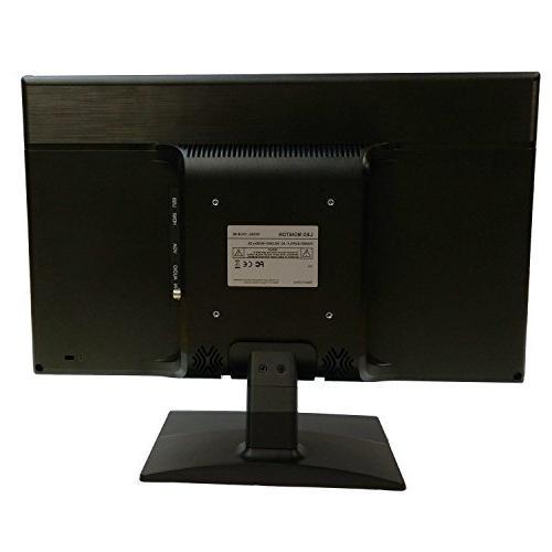 101AV Security LCD VGA Build Speaker Video monitor CCTV Home Office Surveillance Optional Mount