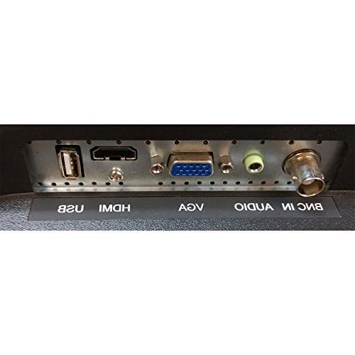 101AV 18.5 LCD Monitor HDMI VGA Build in Video Display monitor for CCTV DVR Home Mount