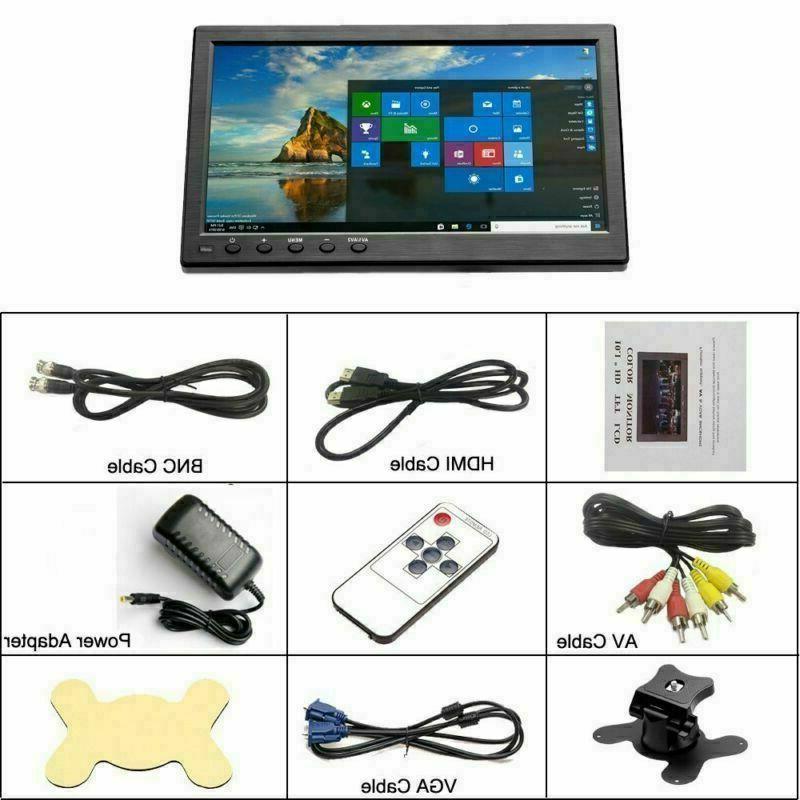 1080P LCD PC Display AV/RCA/VGA/HDMI/BNC +