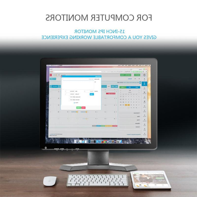 15 inch LCD HD Display w/Speaker BNC/AV/VGA/HDMI/USB/Remote