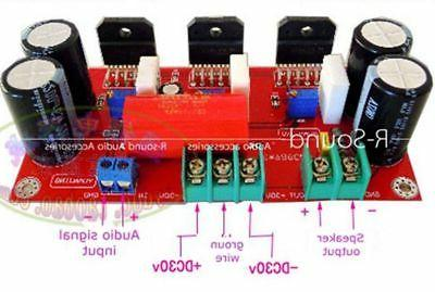 1pc LM3886*3 Speaker Rear-amp Amplifier Finished Board