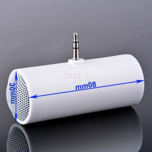 1Pc Stereo Mini Speaker 3.5mm Plug In Tablet MP3
