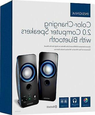 Insignia- 2.0 Speaker - Black