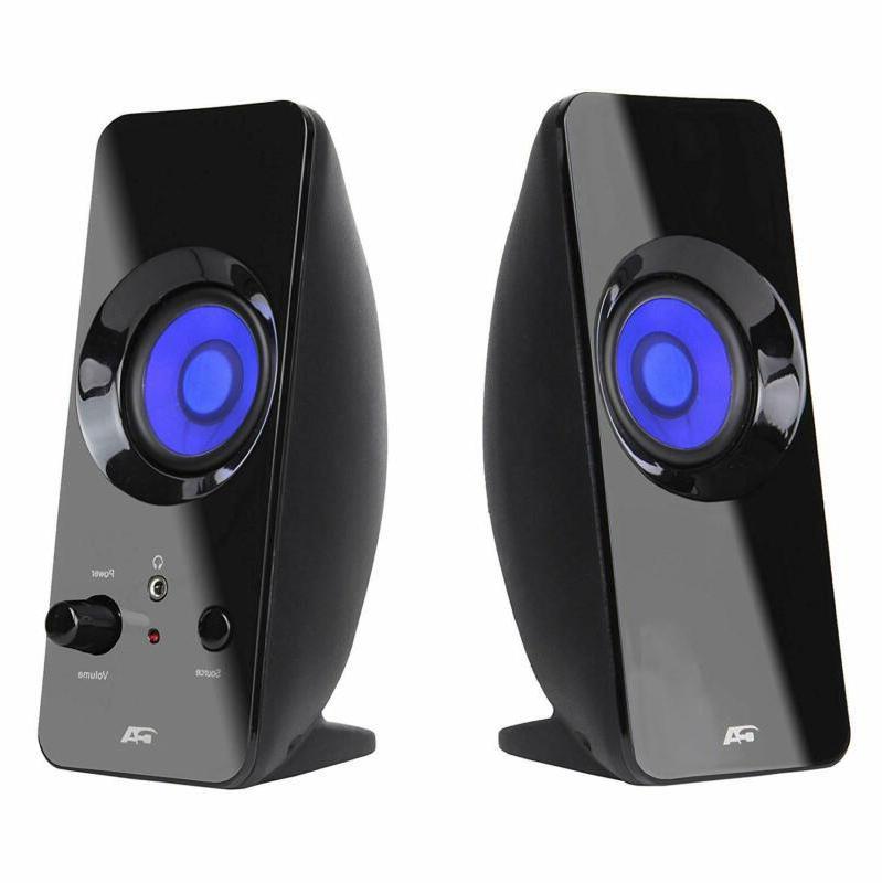 2 0 lighted bluetooth speaker system home