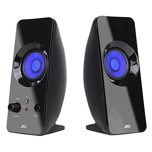 2 0 lighted speaker system