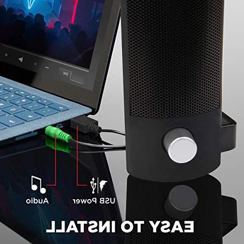 with SonaVERSE PC with 22W Peak and Stereo for and