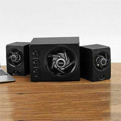 2.1 Computer LED Light Subwoofer PC