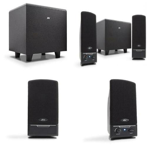 2 1 pc computer speakers with subwoofer