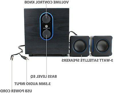 2.1 PC System with - USB Powered