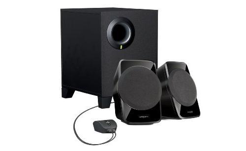 2 1ch stereo speakers sbs