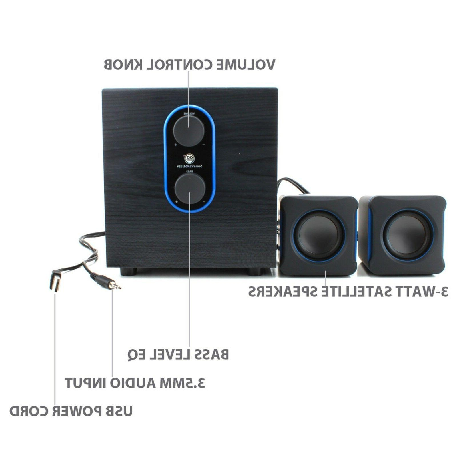 2 speakers system